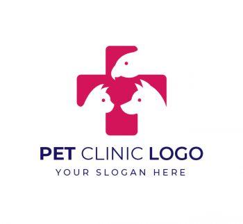 Pet Clinic Logo & Business Card Template