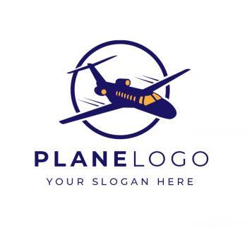 Plane Logo & Business Card Template