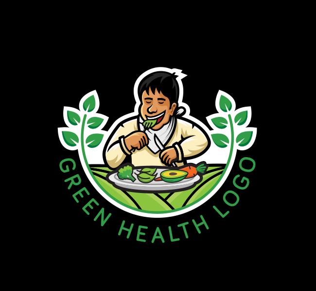 592-Green-Health-Stock-Logo
