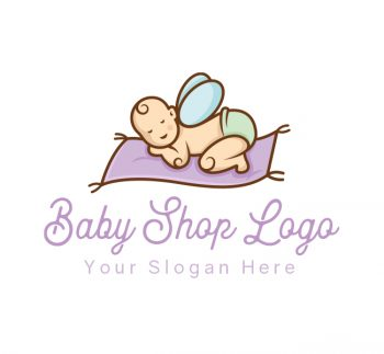 Magic Baby Shop Logo & Business Card