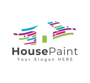 House Painting Logo & Business Card
