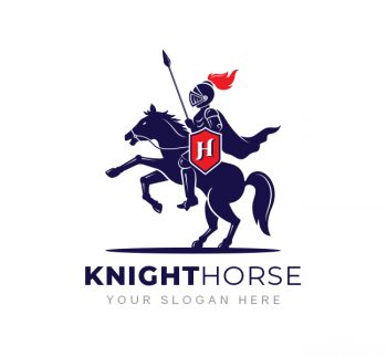 Knight Horse Logo & Business Card