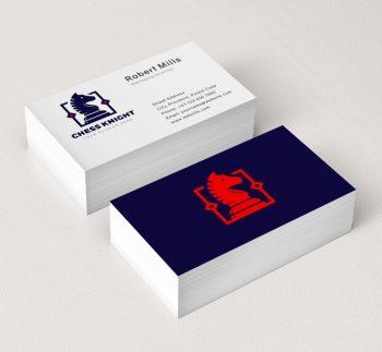 622-Chess-Knight-Business-Card-Mockup