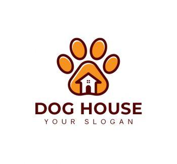 Dog House Logo & Business Card Template