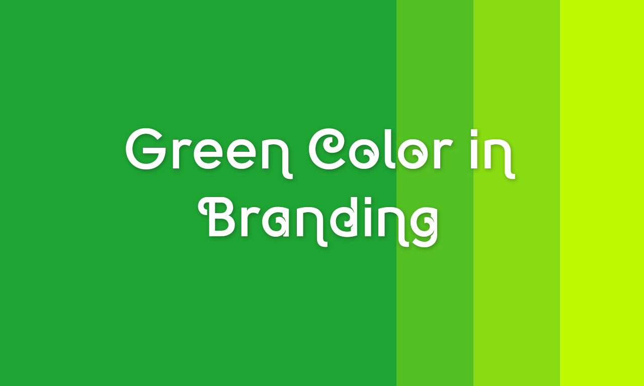 Mesmerizing Impact of Green Colored Brand Identity