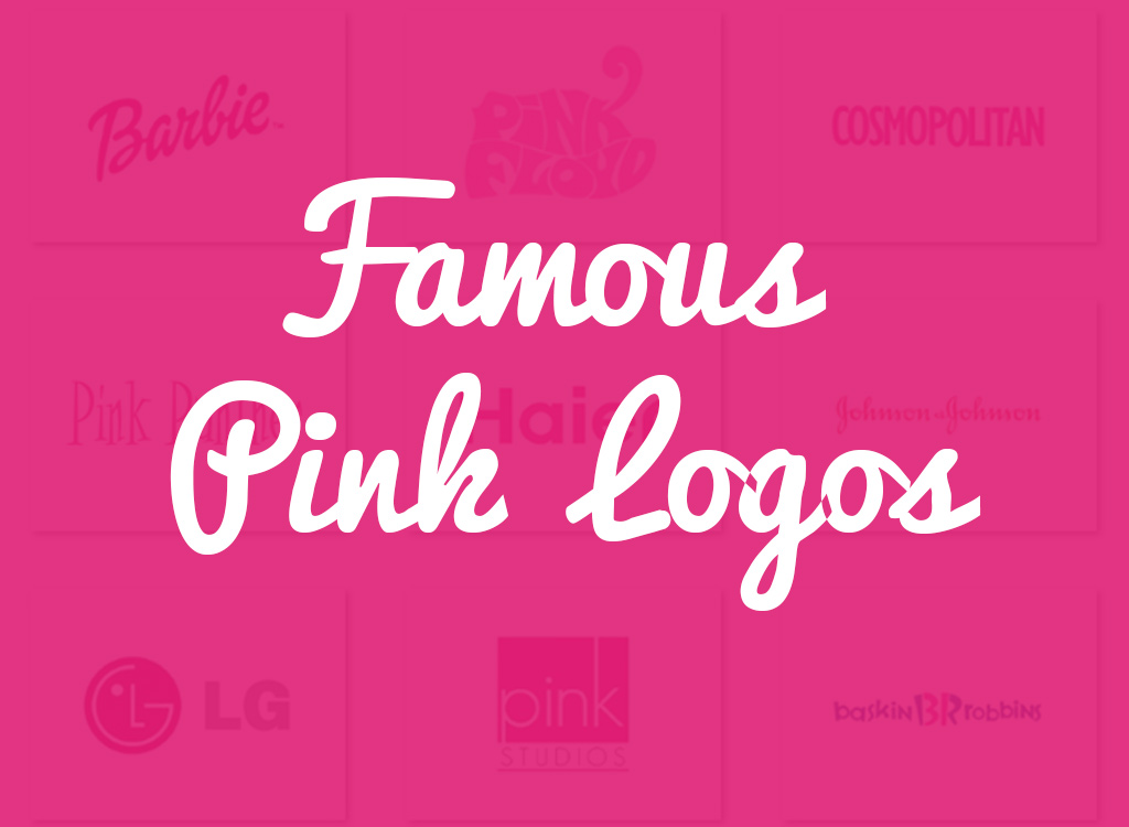 Excellent Top 10 Famous logos designed in Pink GX45