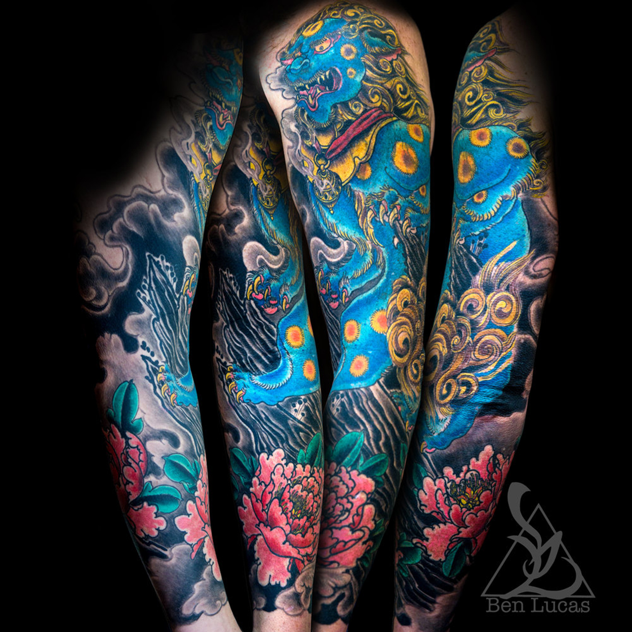Mystical Japanese Tattoos by Ben Lucas