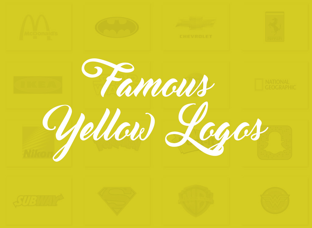 Top 20 Famous Logos Designed in Yellow Famous Love Logo
