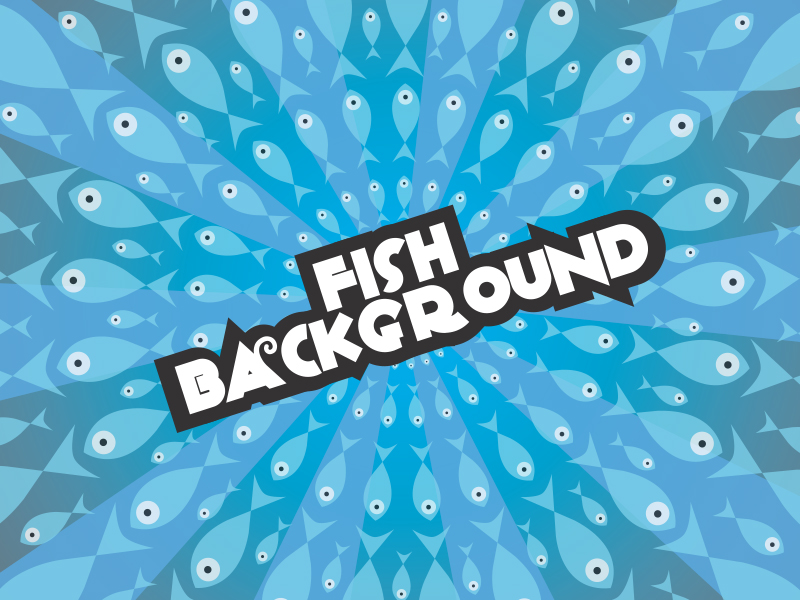 Fishes-vector-background