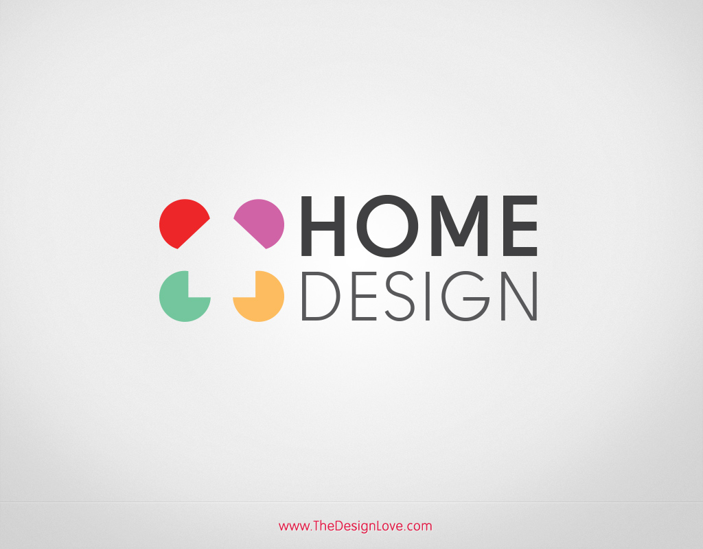 Home Decoration And Interior Design Blog Premium Vector Home Design Logo
