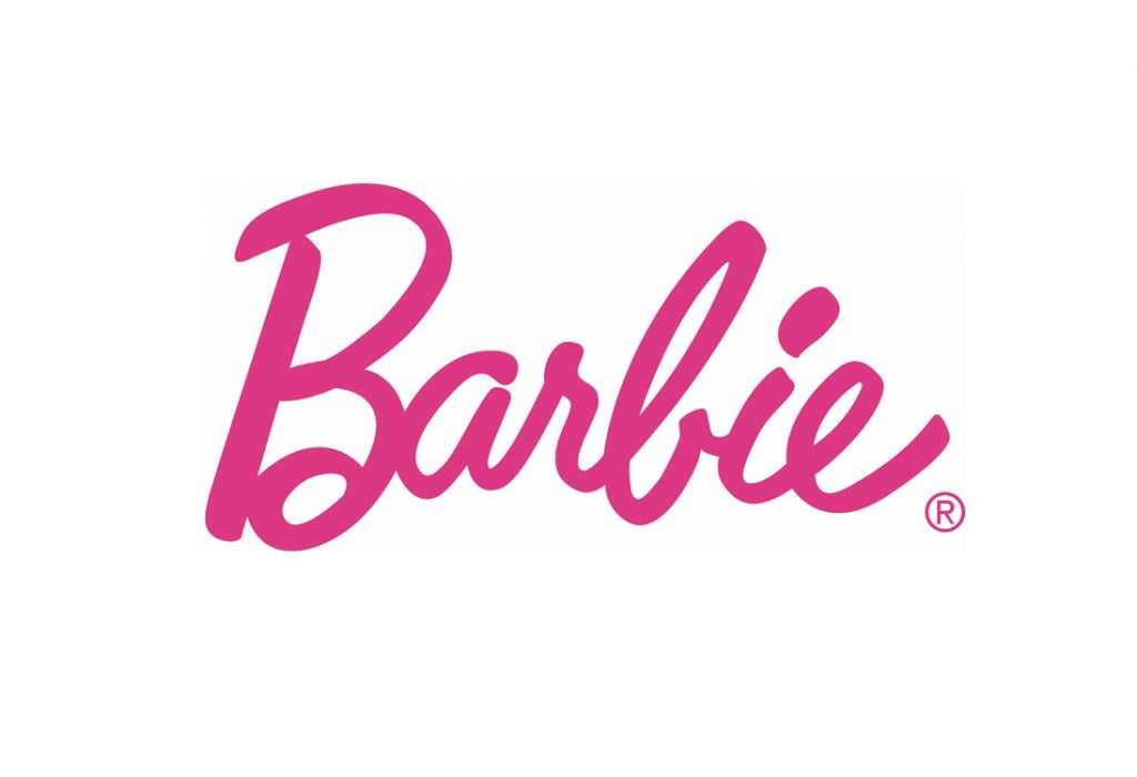 famous-brands-with-typography-logo-barbie