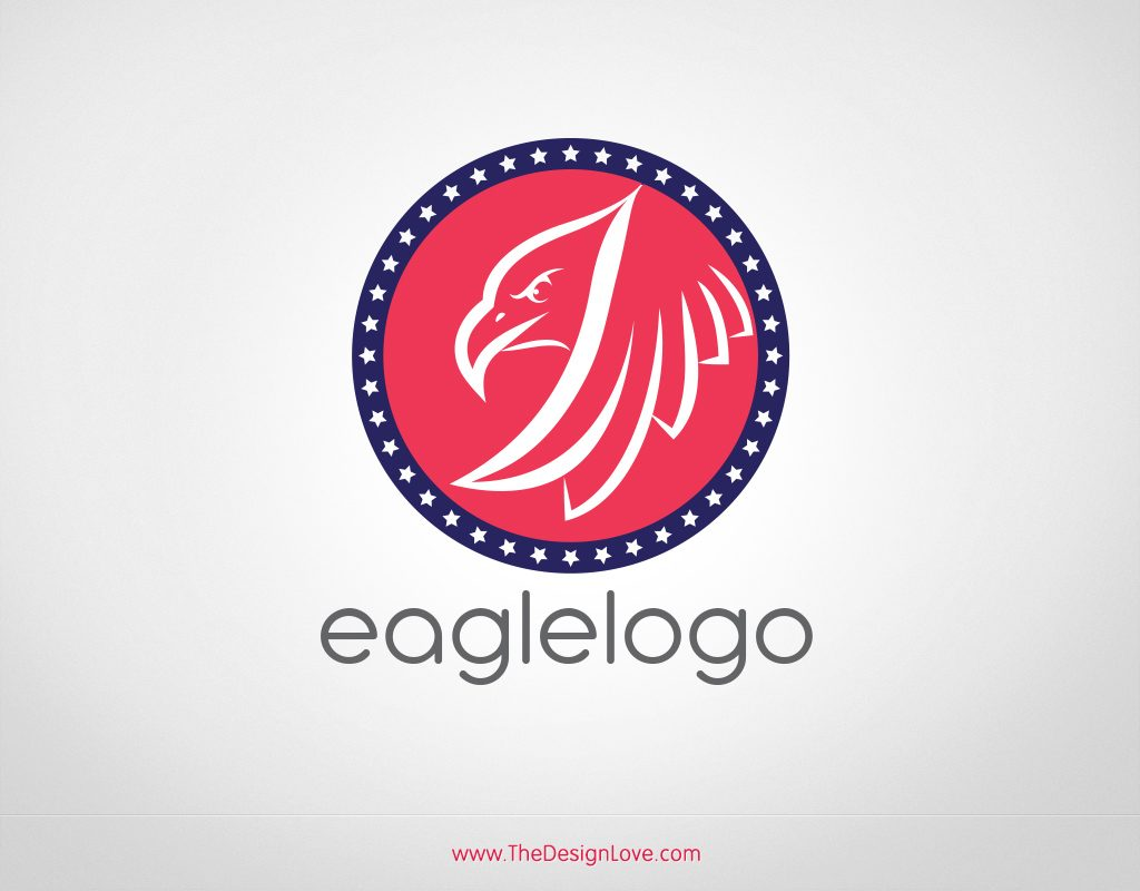 Free Vector Eagle Logo for Start Up