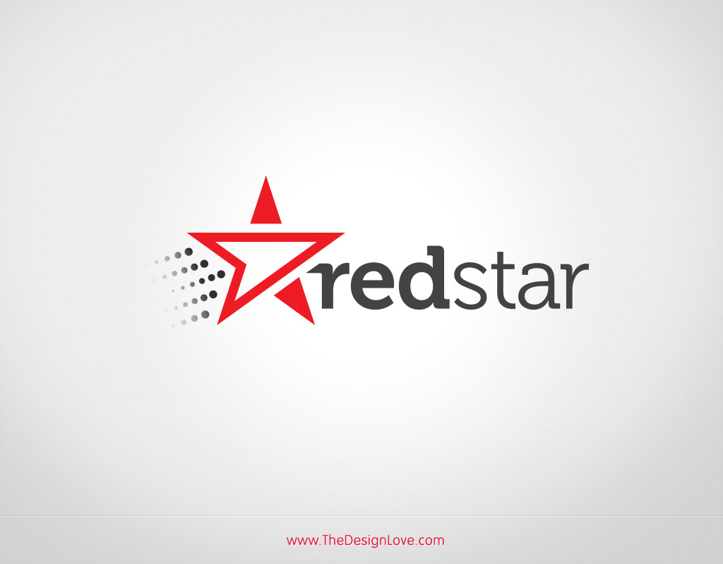 Free-vector-redstar-logo-for-start-up