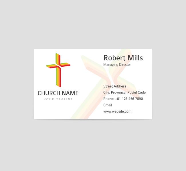 002-Church-Cross-Bcard-Front-Template