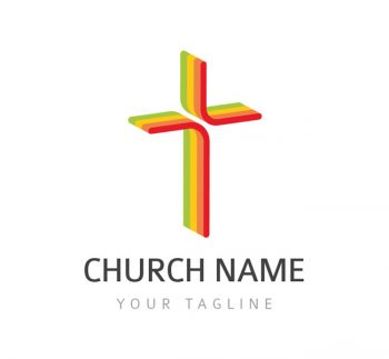 Church Cross Logo & Bcard Template