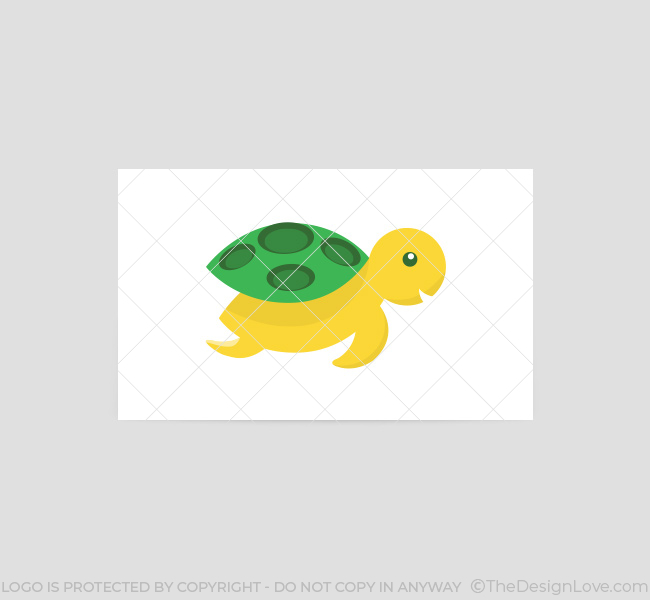 004-Flying-Turtle-Logo-Business-Card-Template-Back