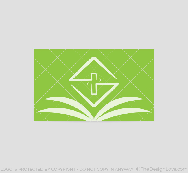 006-Church-Logo-with-Bible-Business-Card-Template-Back-03