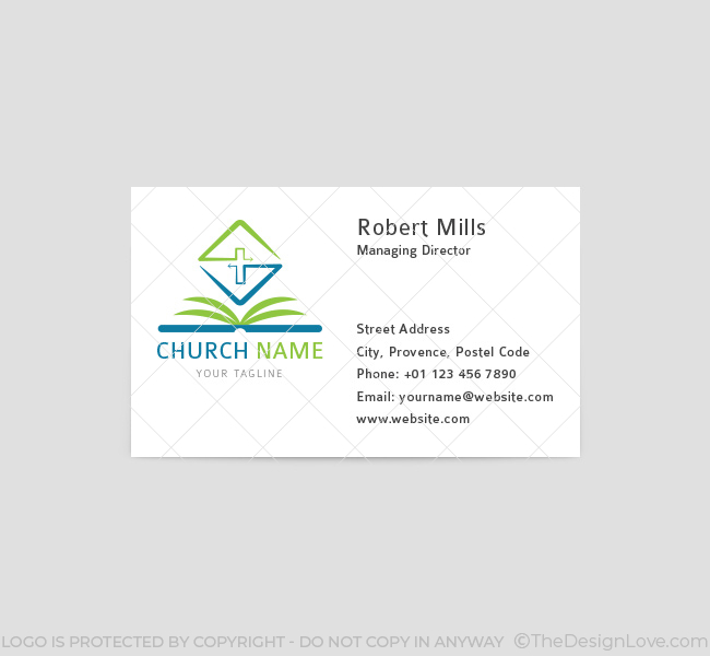 006-Church-Logo-with-Bible-Business-Card-Template-Front-03
