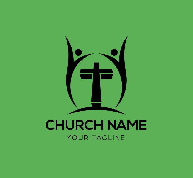 006-People-Cross-Logo-with-Cross-Template-B-03