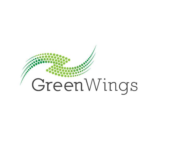 011-Green-Wings-Logo-Template