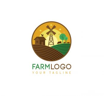 Farm Logo & Bcard Template