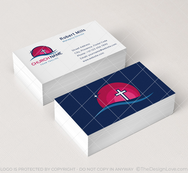 006-Church-Logo-with-Cross-Business-Card-Template-07