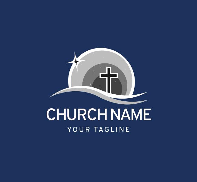 006-Church-Logo-with-Cross-Template-W-07