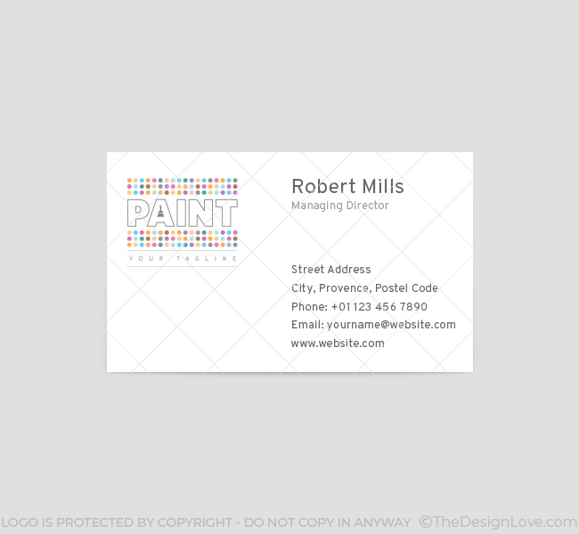 012-Paint--Logo-Business-Card-Template-Front