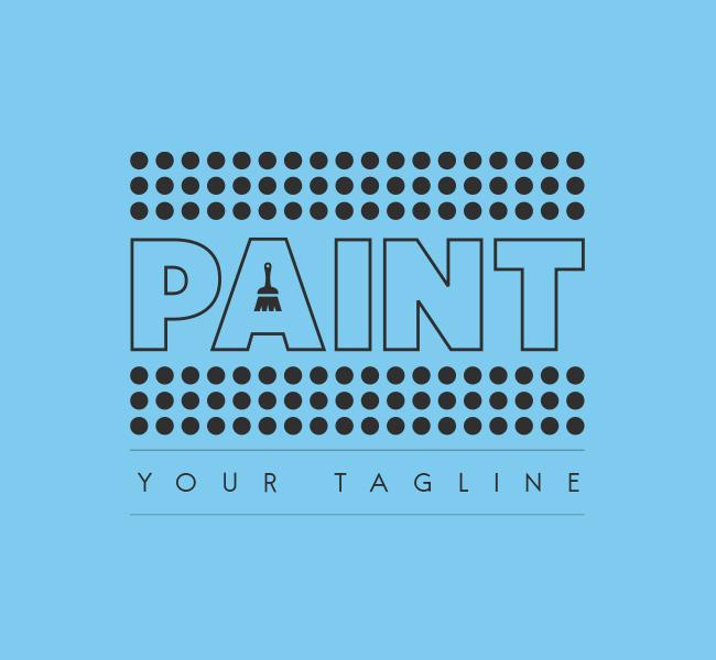 012 Paint -Logo-Template-B
