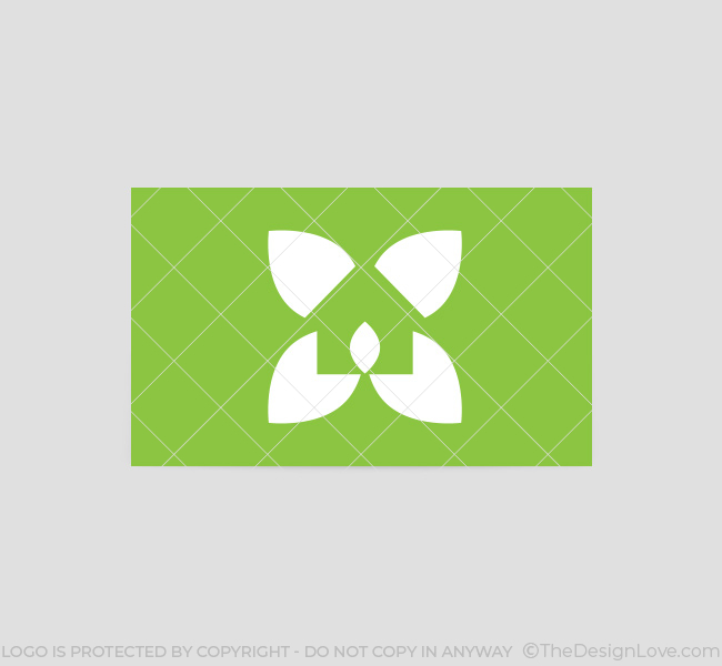 Green home design logo template the design love for Home decor logo 99design
