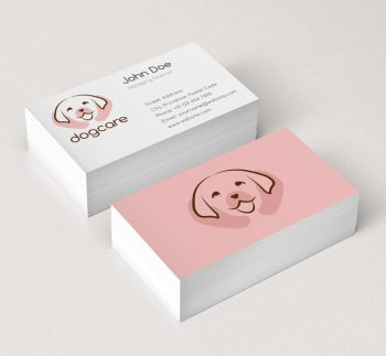 017-Dog-Care-Logo-Business-Card-Template