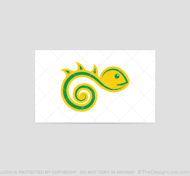 019-Chameleon-Logo-&-Business-Card-Template-Back