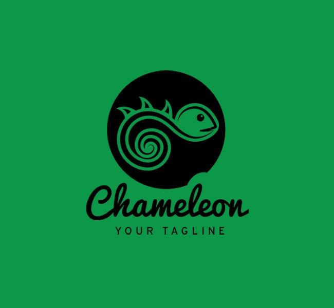 019-Chameleon-Logo-Template_B