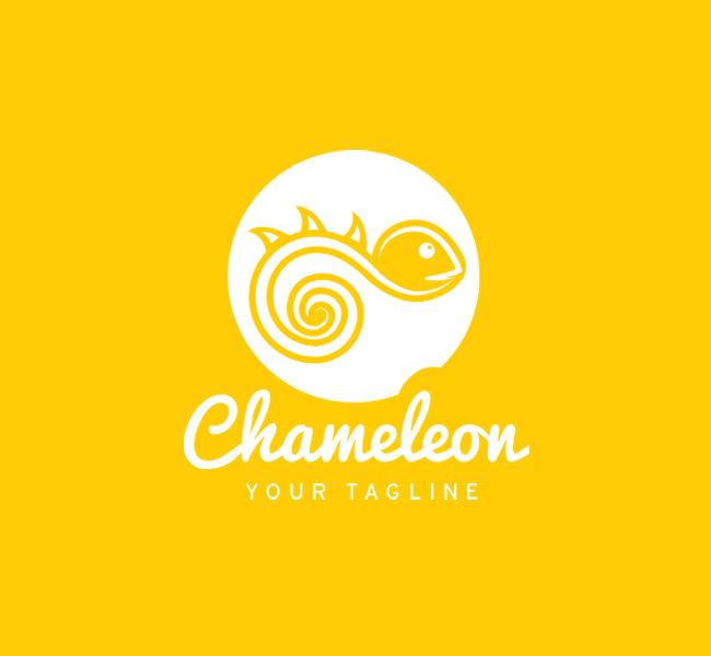 019-Chameleon-Logo-Template_W