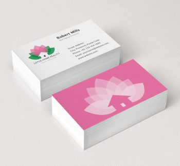 020-Lotus-Homes-Logo-&-Business-Card-Template