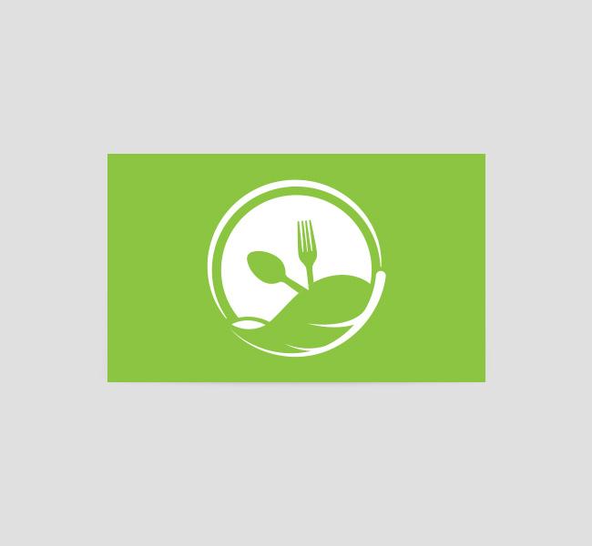 026 Organic Food Logo-&-Business-Card-Template-Back
