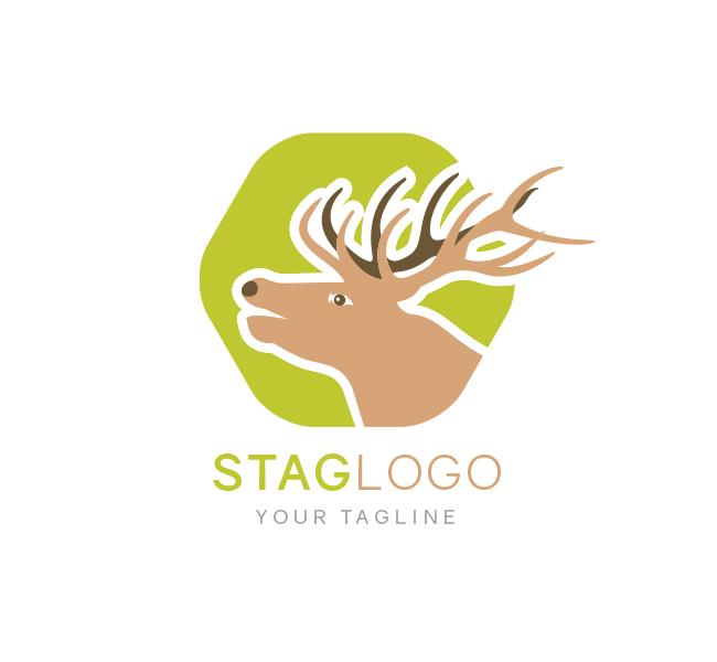 Stag-Head-Logo