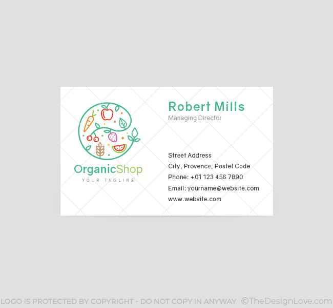 028-Organic-Shop-Logo-&-Business-Card-Template-Front
