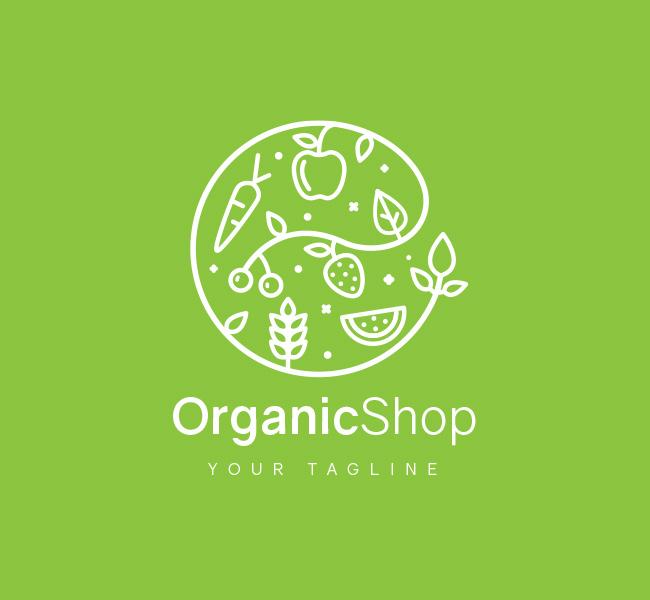028-Organic-Shop-Logo-Template_W