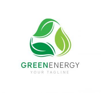 Green Energy Logo & Business Card Template