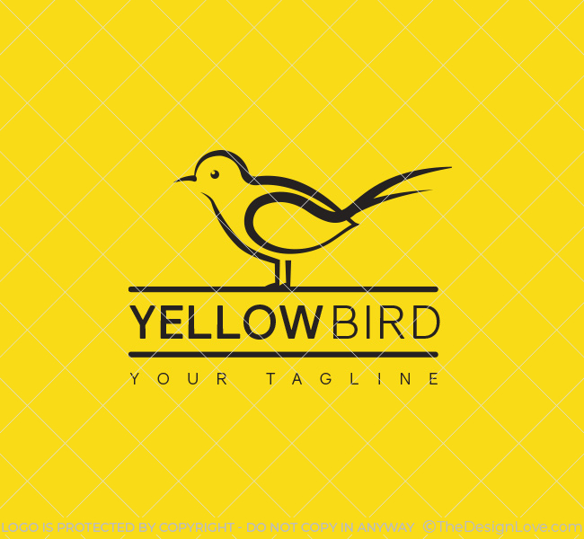 031-Yellow-Bird-Logo-Template_B