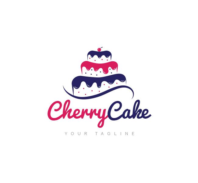 Cake Shop Logo Template