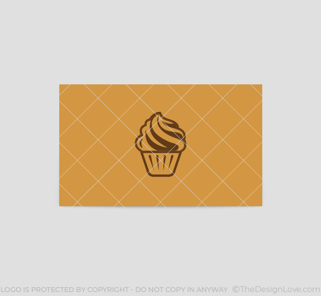 035-Cup-Cake-Logo-&-Business-Card-Template-Back