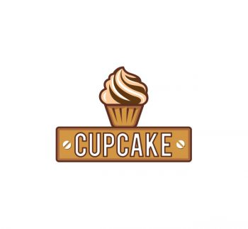 Cup Cake Logo & Business Card Template