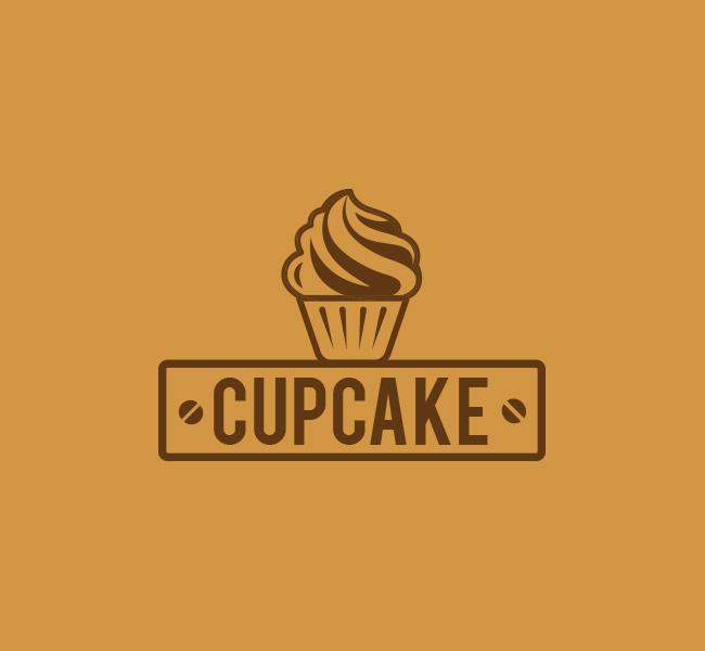 035-Cup-Cake-Logo-Template_B
