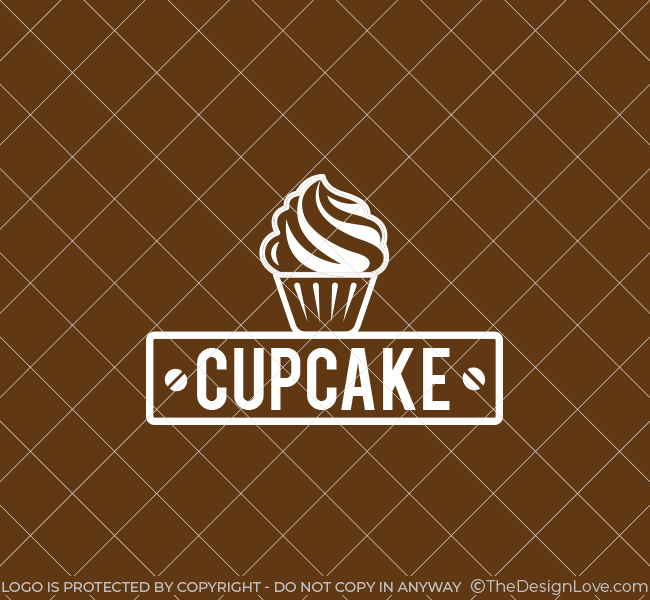 035-Cup-Cake-Logo-Template_W
