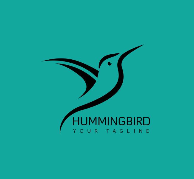 037--Humming-Bird-Logo-Template_B