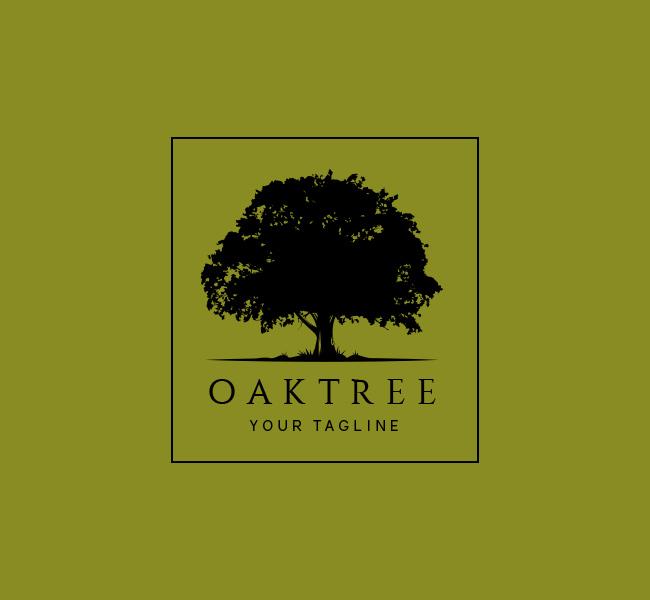 Oak Tree Logo Amp Business Card Template The Design Love