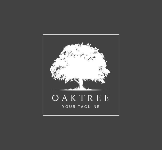 040 Oak Tree Logo Template W