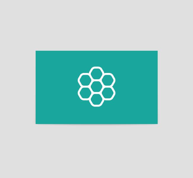 041-Honeycomb-Logo-&-Business-Card-Template-Back